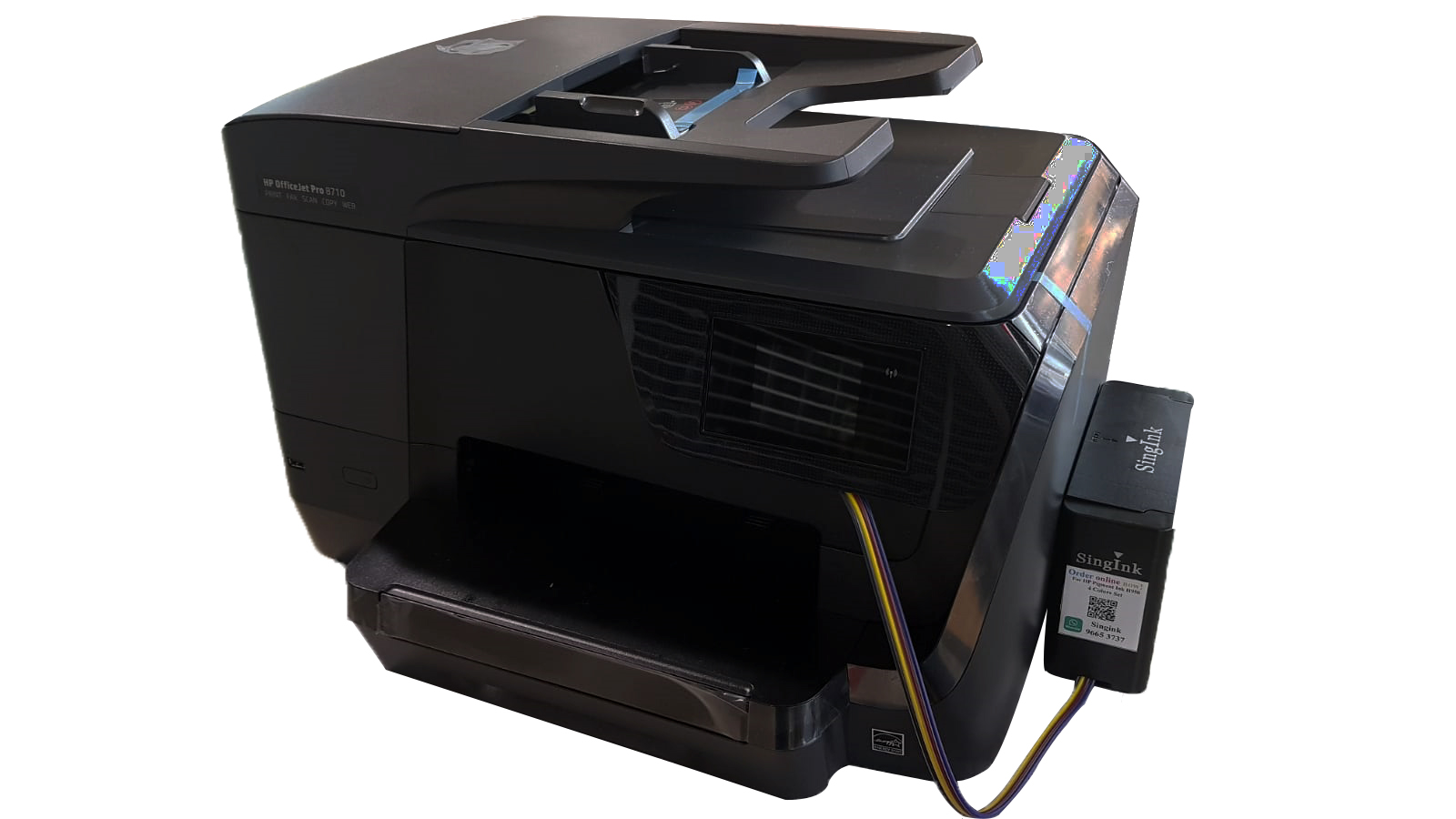Printer Hp Officejet Pro 8710 With Ink Tank System Singink