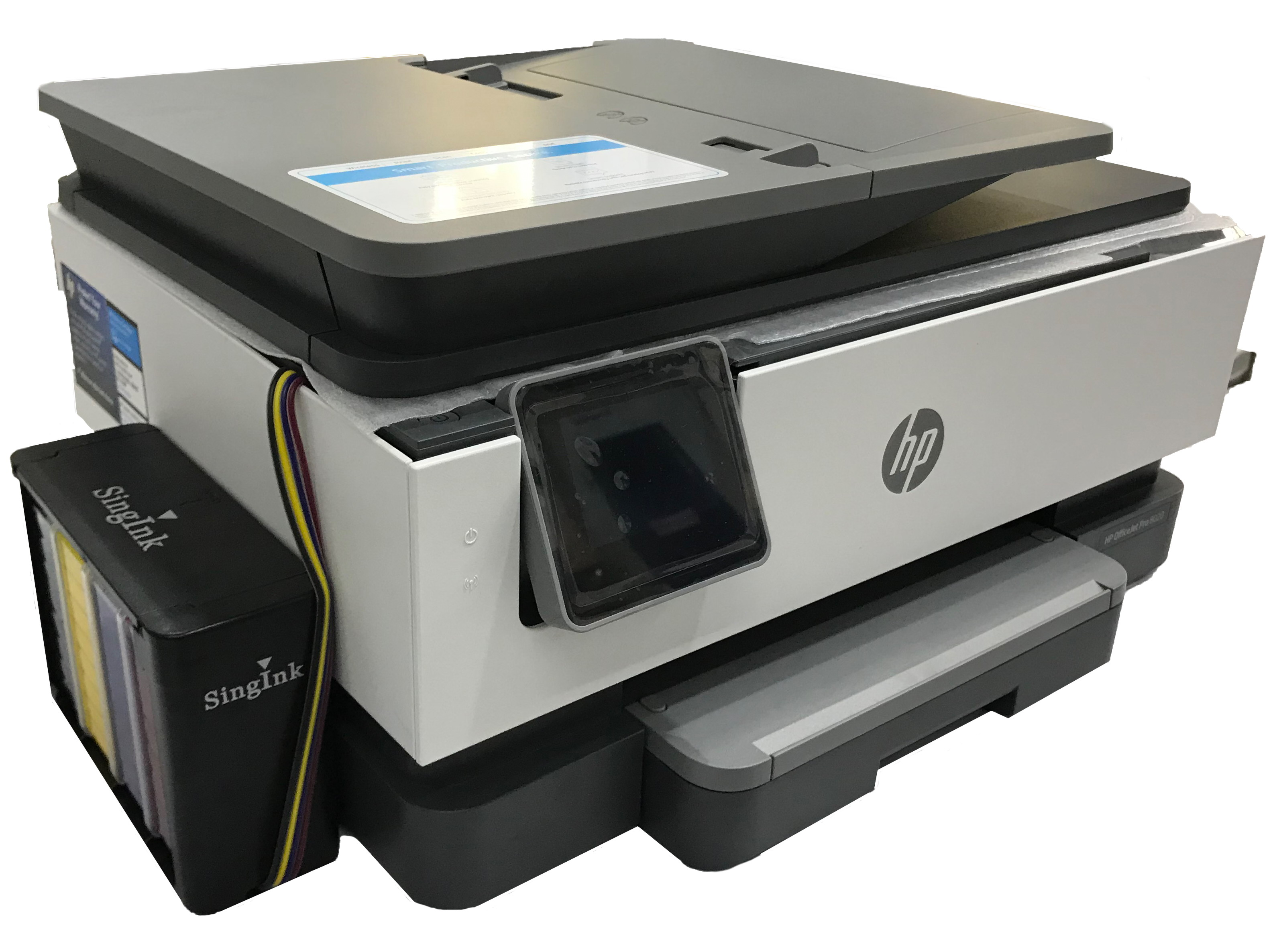 HP OfficeJet Pro 8020 All-in-One Printer with Continuous Ink Supply System  (CISS)